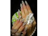 Логотип EXclusive nails, школа-студия Оксаны Сивогривовой